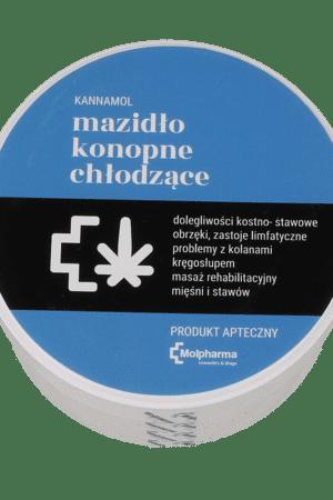 Konopne Mazidło chłodzące KANNAMOL 100ml