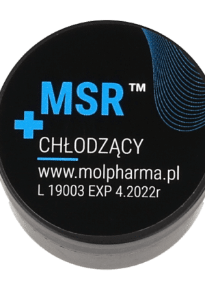 MSR cooling cream mini 10ml