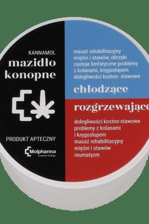 Mazidło Konopne KANNAMOL DUO rozgrzewające/ chłodzące 200ml