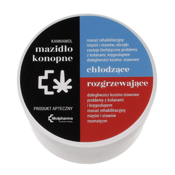 Mazidło Konopne KANNAMOL DUO