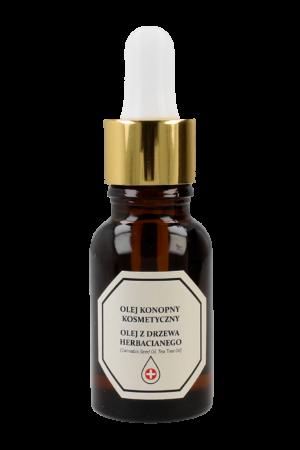 Olej Konopny z olejem z drzewa herbacianego