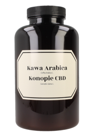 Arabica coffee with hemp CBD