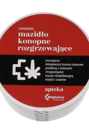Konopne Mazidło Rozgrzewające KANNAMOL 100ml